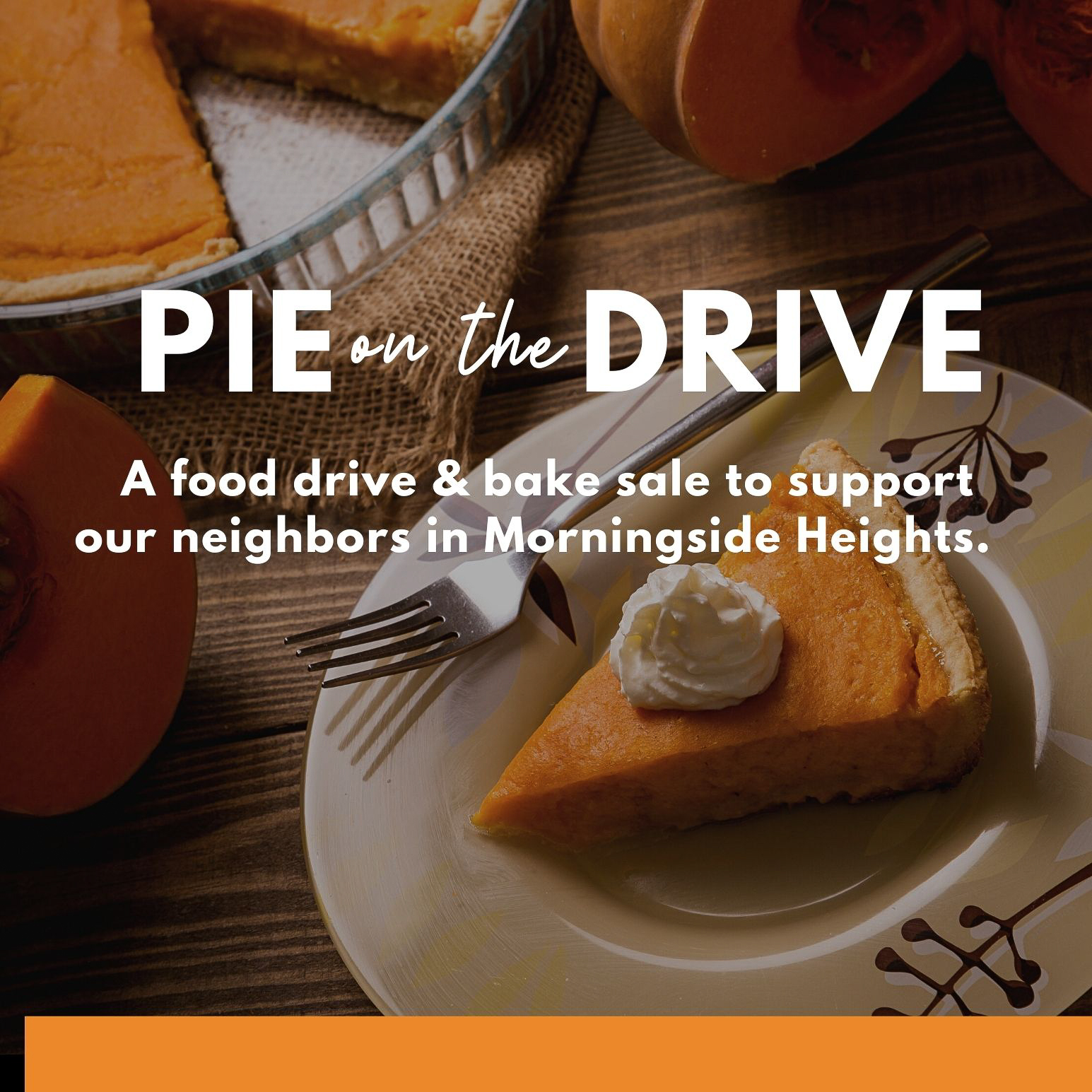 Pie on the Drive